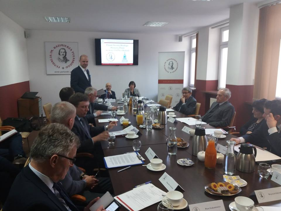 """Priorities of NATO and Poland ahead of the Alliance's Summit in Brussels"" – discussion at the Casimir Pulaski Foundation HQ."