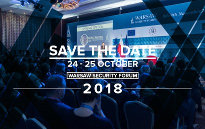 Warsaw Security Forum 2018 | #WSF2018