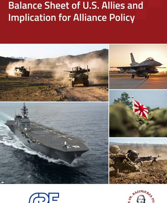 REPORT: Balance Sheet of U.S. Allies and Implication for Alliance Policy