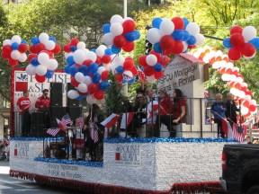 October 5, 2014: Parade sponsors