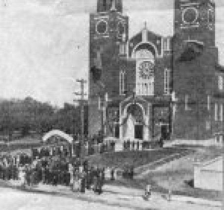 Dedication of ABVM Catholic Church in 1934