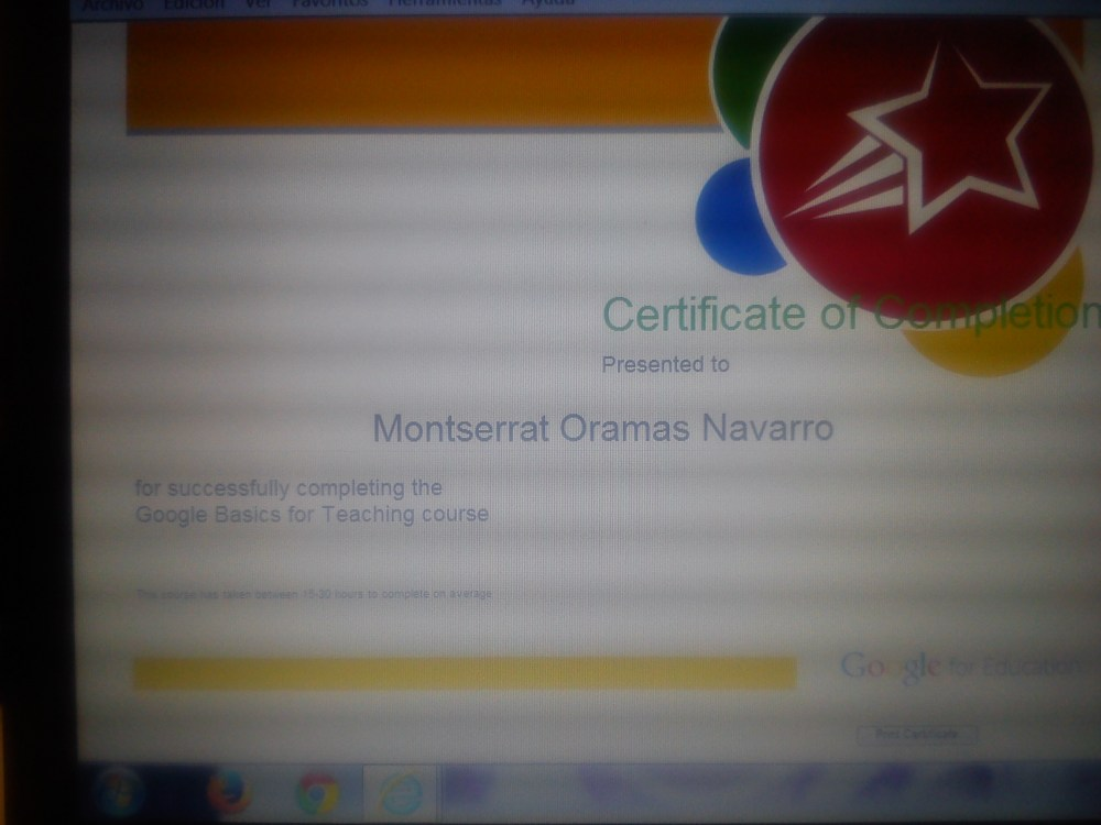 certificado Google basics for teaching