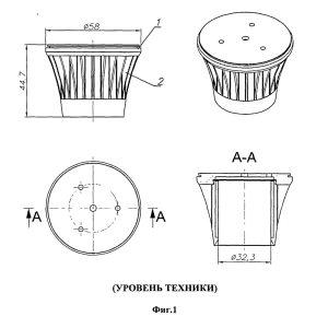 Сравнение радиаторов цокольного светодиодного светильника
