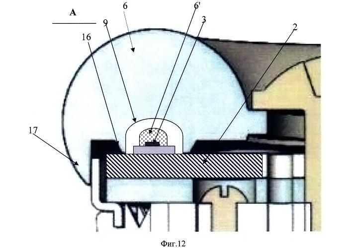 варианта лампы на основе поверхностного монтажа готовых дискретных светодиодов