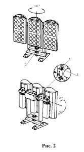 возможности регулирования КСС светодиодного прожектора