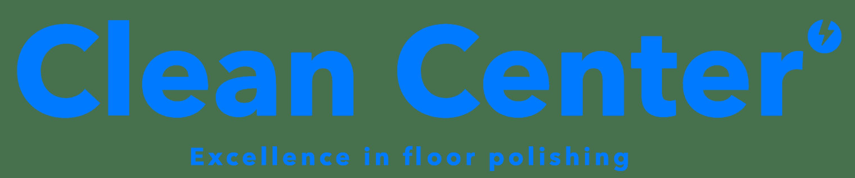 pulido de pisos clean center logotipo