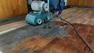 pulido de piso de madera 6