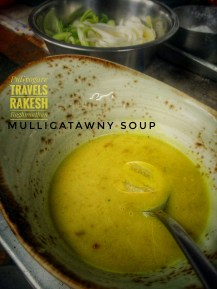 the Mulligatawny Soup from the 1800's