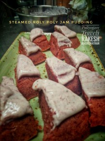 Steamed Roly Poly Jam Pudding