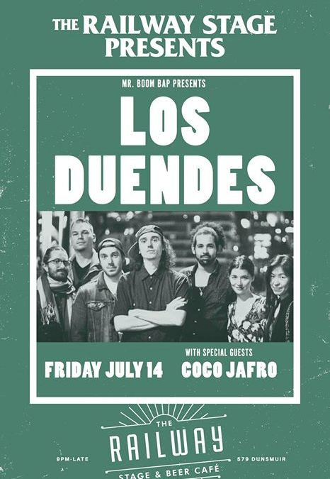 Los Duendes & Coco Jafro at The Railway Club