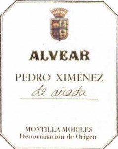 Alvear Pedro Ximenez de Anada