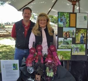 Owner & winemaker Curt Dunham & owner Peggy Fiandaca