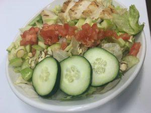 Apple grilled chicken salad