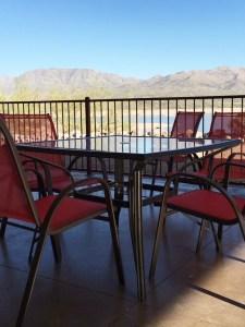 Bartlett outdoor seating