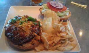Chainsaw Chili burger