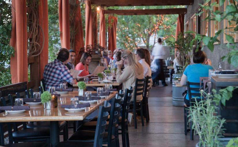 Updated: Nice weather to sip and savor for Social Hour on the patio at Beckett's Table