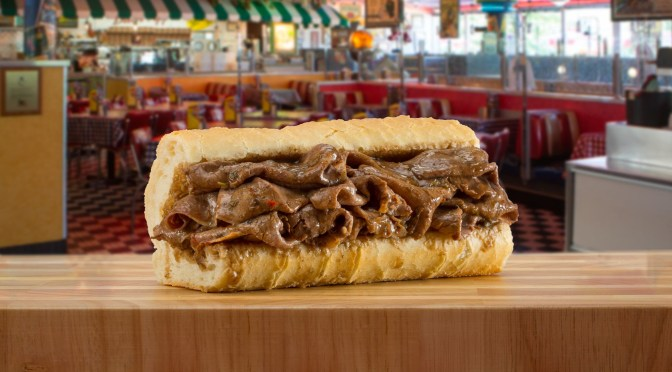 It's National Italian Beef Week at Portillo's