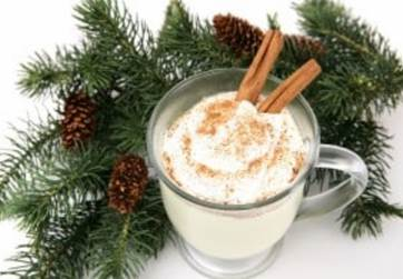 An Eggnog recipe for Hickman's Family Farms Holly Jolly Eggnog