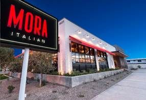 Mora Italian ends 2018 with 4 course menu on New Year's Eve