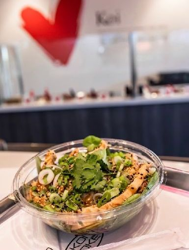 What the cluck! Koi Poke now offers chicken for its bowls