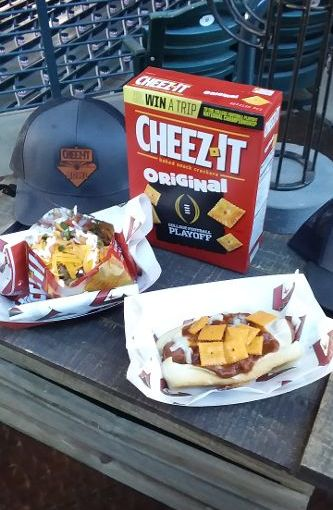 Cheez-It Bowl offers fans a Cheez- It twist to stadium foods