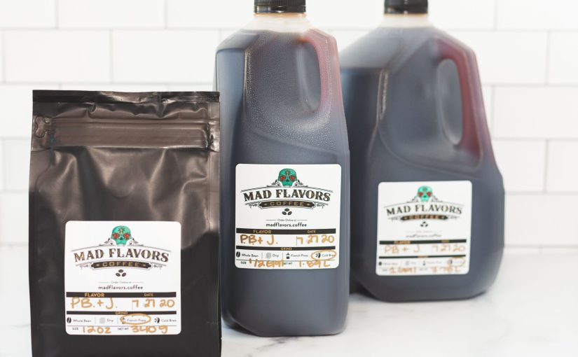 Mad Flavors Coffee delivers cold brew to your door