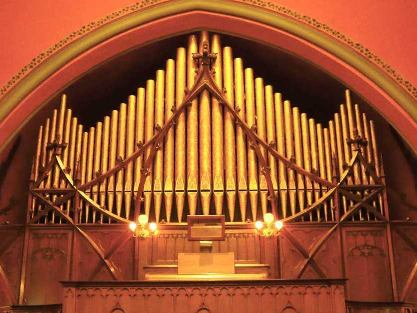 Johnson Pipe Organ, Pullman Memorial Universalist Church, Albion, NY