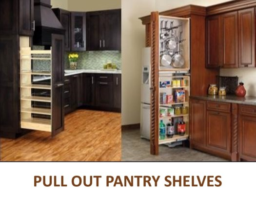 Kitchen Cabinet Pull Out Shelves Pull Out Spice Racks Pull Out Pantry Shelves