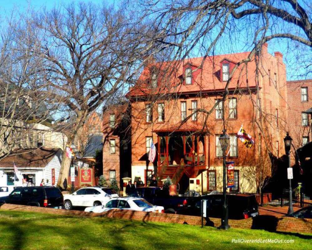 The Calvert House historic Inn dating from 1776.