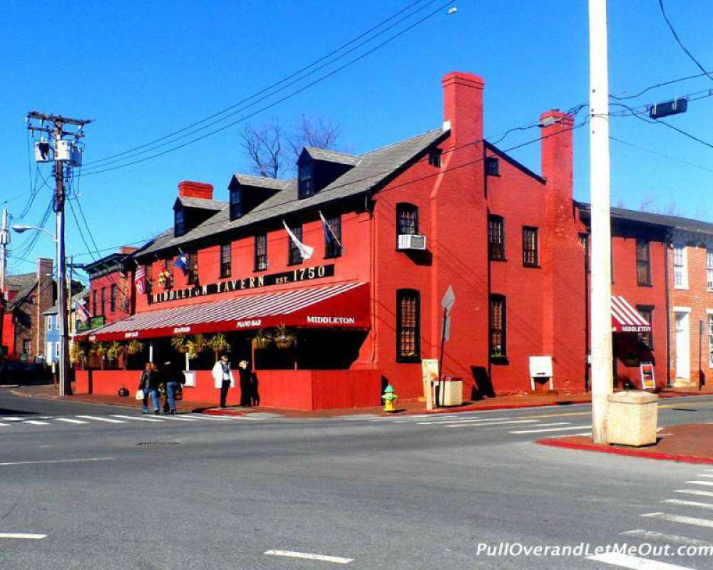 Middleton Tavern is the second oldest operating tavern in America.
