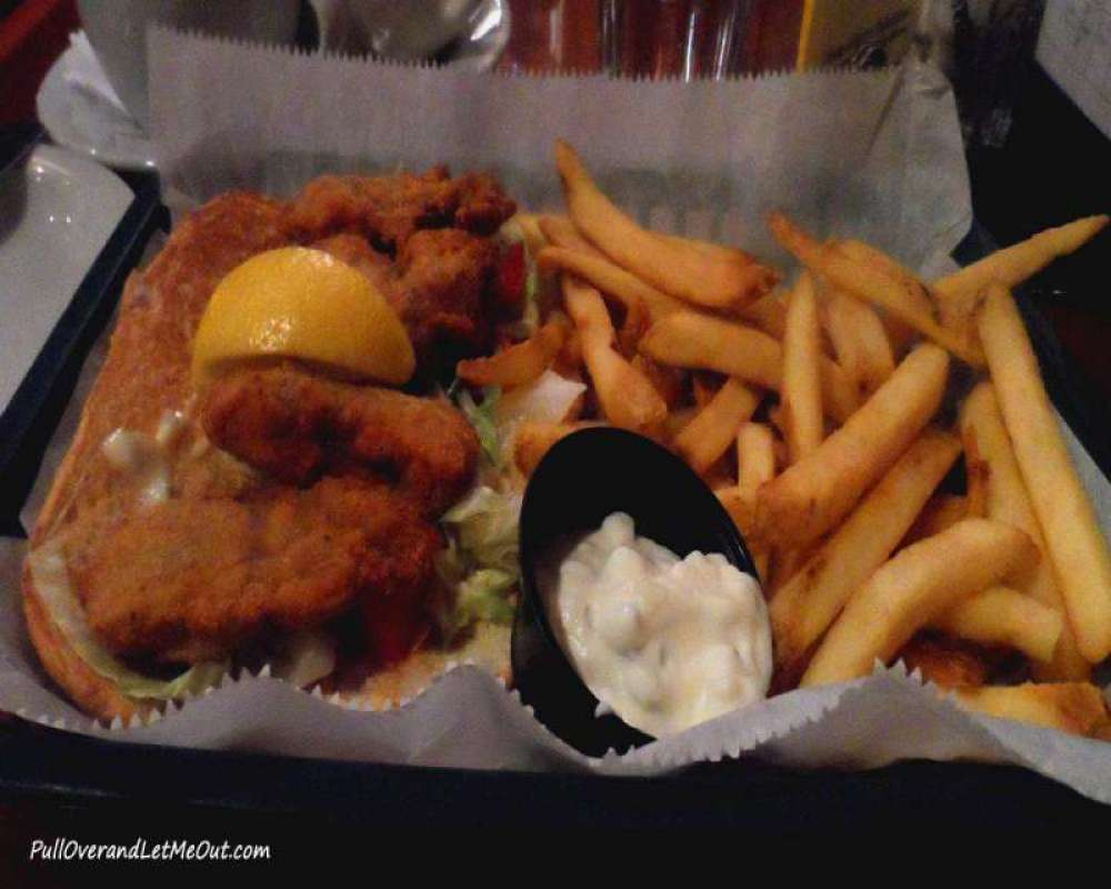 Seafood is on all menus in Annapolis.