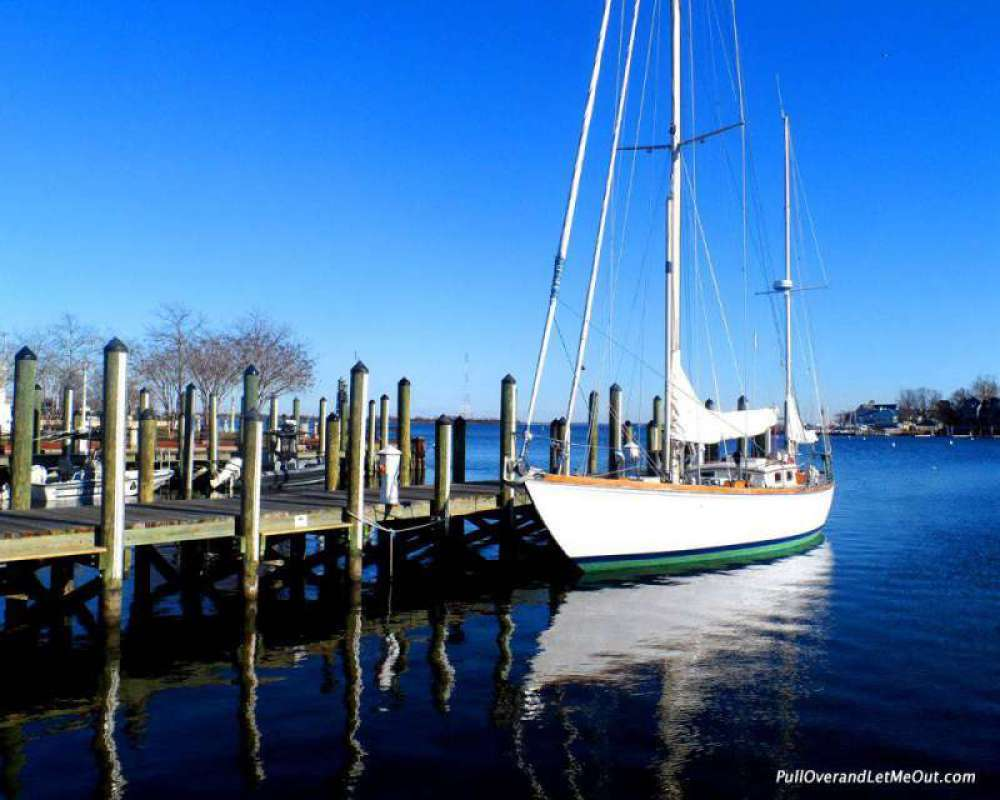 """Annapolis is nick named """"America's Sailing Capital."""""""