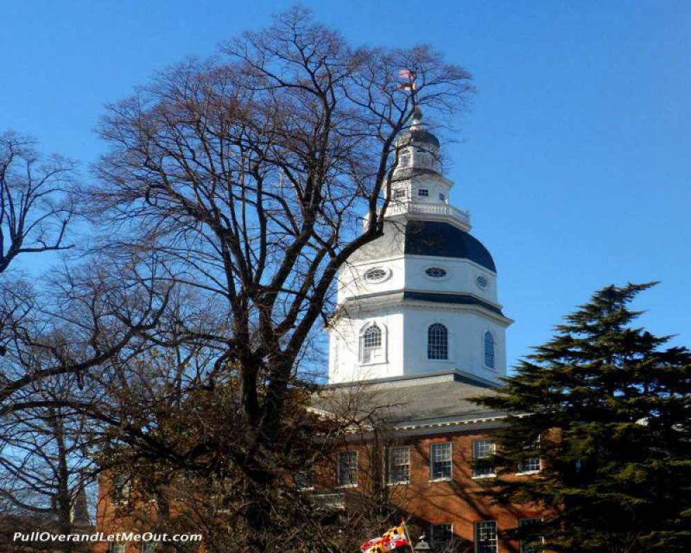 The Capital dome is a renowned part of the Annapolis sky line.