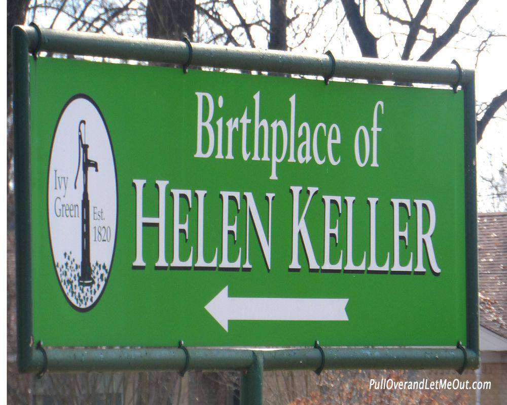 Birthplace of Helen Keller