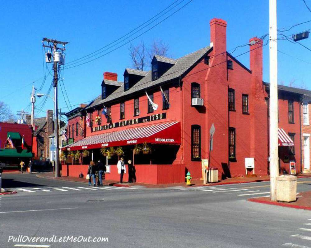 Middleton Tavern in Annapolis, Maryland