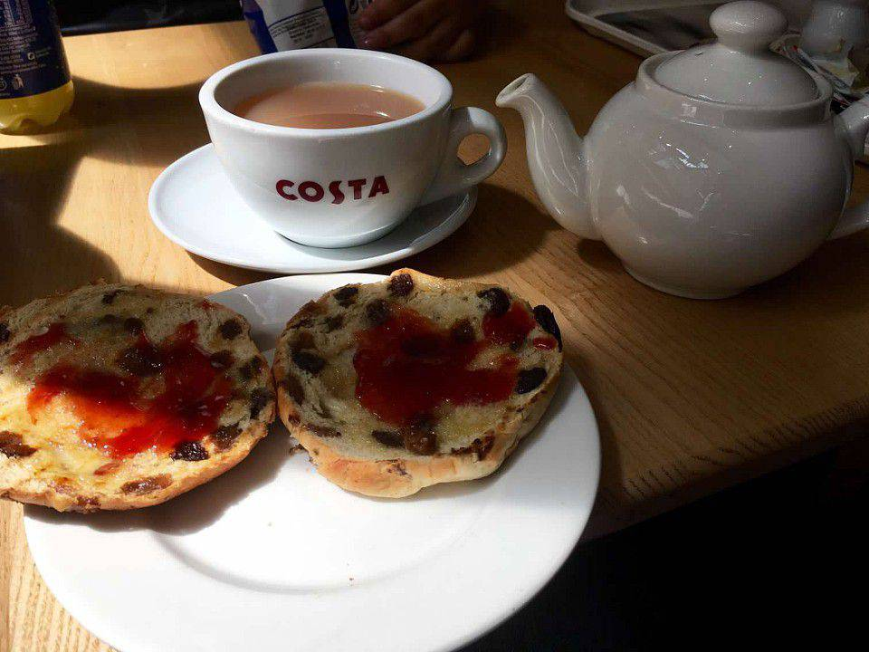 Cork tea and scones