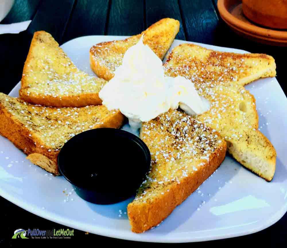 French toast {RA} Bistro Lynchburg, Virginia PullOverandLetMeOut