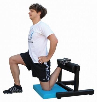 single leg rear elevatet food squat einbeinig kniebeuge pullsh