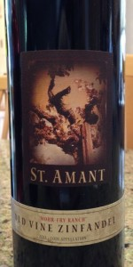 2011 St Amant Old Vine Zinfandel