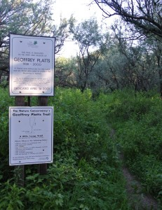 Geoffrey Platts Trailhead