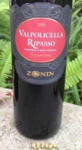 2011 Zonin Valpolicella Ripasso Superiore