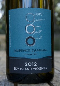 2012 Lawrence Dunham Sky Island Viognier