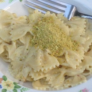 Farfalle with Pistachio Cream Sauce