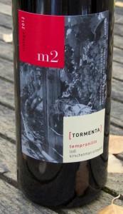 2012 m2 Wines [Tormenta] Kirschenmann Vineyards Tempranillo