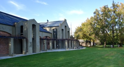 Saronsberg winery building
