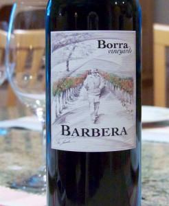 2012 Borra Vineyards Old Vine Barbera