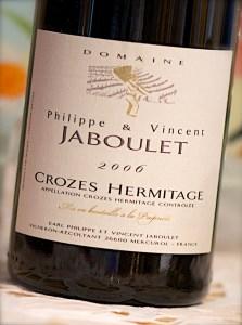 2006 Domaine Philippe & Vincent Jaboulet Crozes Hermitage