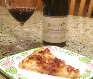 2013 Domaine de Bila-Haut Occultum Lapidem and food
