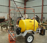 Another of the spray carts