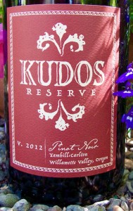 2012 Kudos Reserve Yamhill-Carlton Pinot Noir